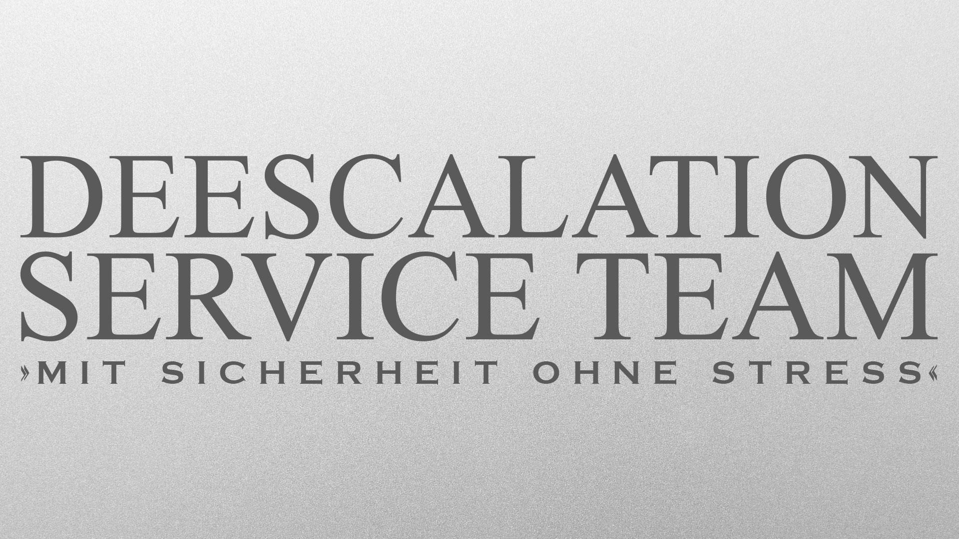 Logo der Deescalation Service Team GmbH