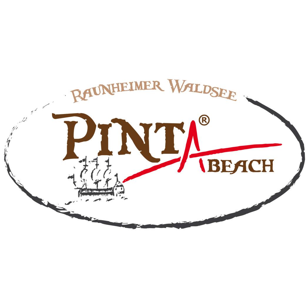 Das Logo des Pinta Beach